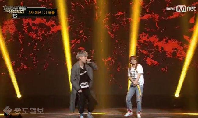 ▲ /사진=Mnet '쇼미더머니6' 방송 캡쳐