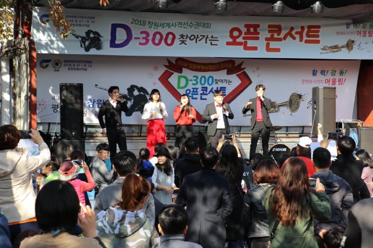 D-300 찾아가는 오픈 콘서트(진해 여좌천1) (2)