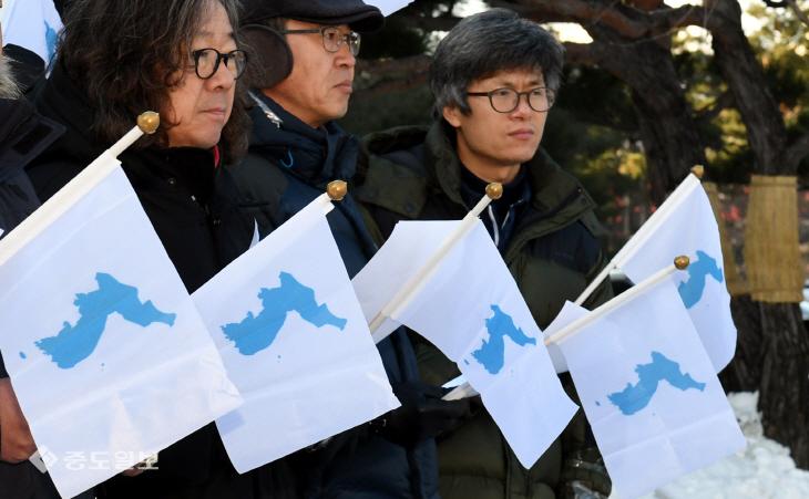 20180112-남북관계 전면 회복 촉구 기자회견1