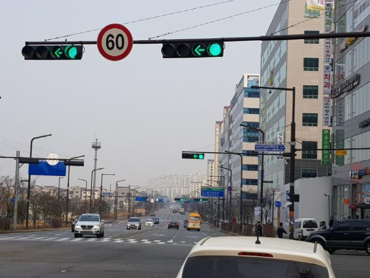 사진1-2.향남2지구교통신호연동화 모습