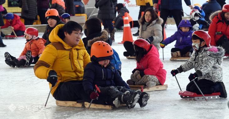 20180114-휴일 썰매장