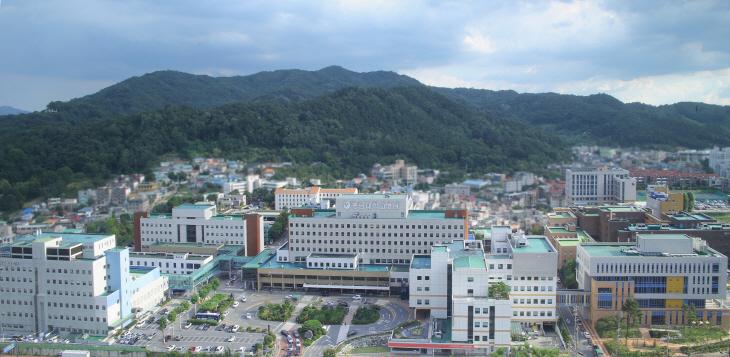 충남대학교병원-본원_전경